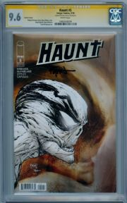 Haunt #5 Variant CGC 9.6 Signature Series Signed Ryan Ottley Image comic book